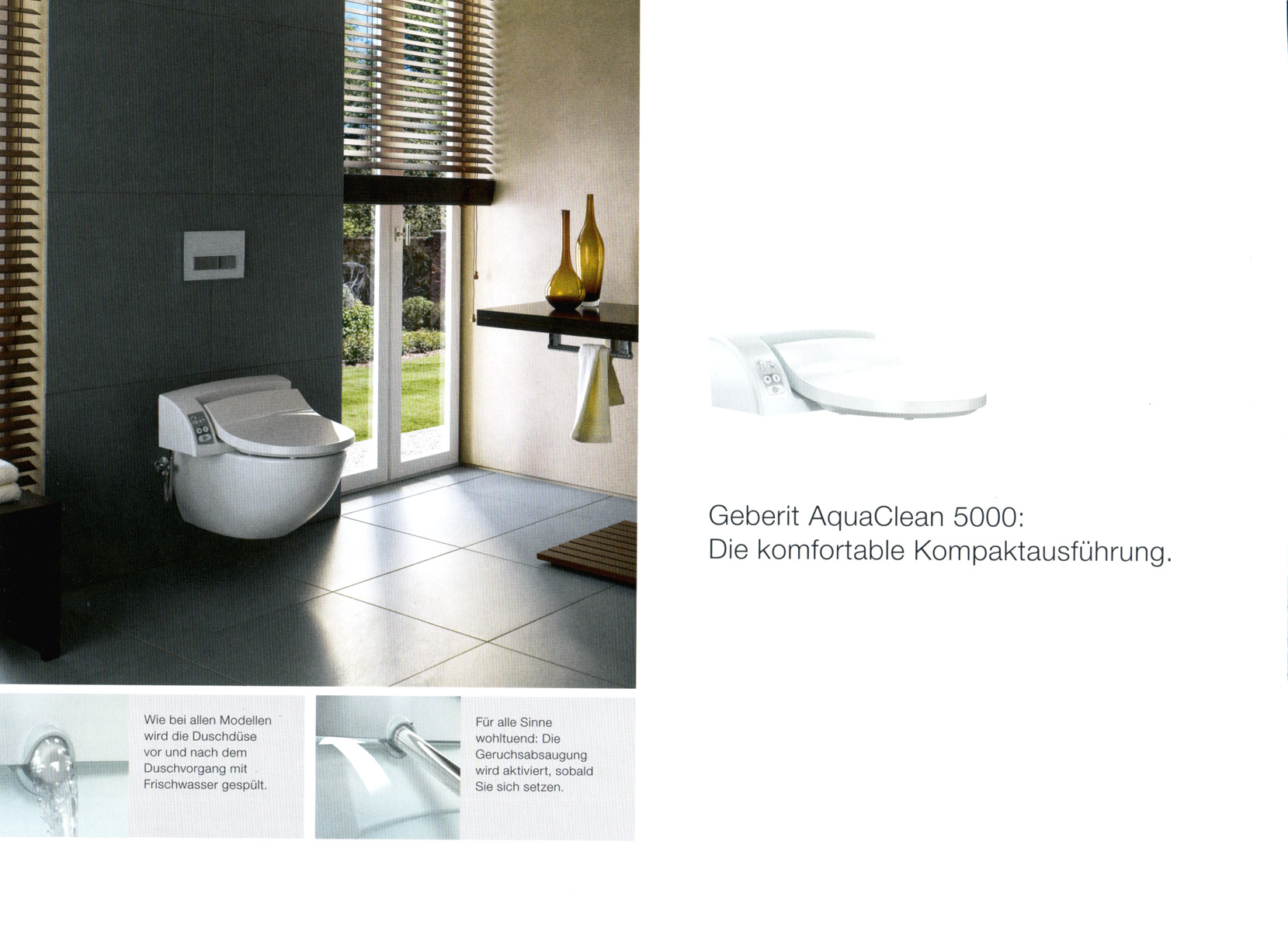 geberit aquaclean. Black Bedroom Furniture Sets. Home Design Ideas