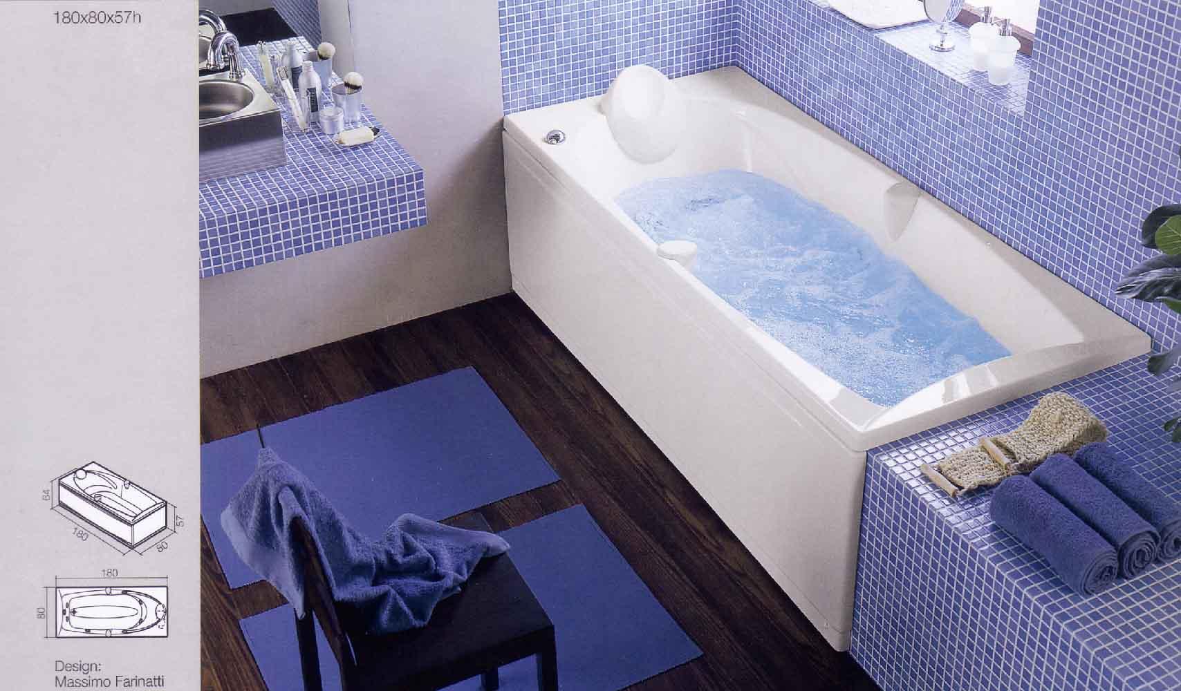 Vasca Da Bagno Blu Bleu : Blu bleu